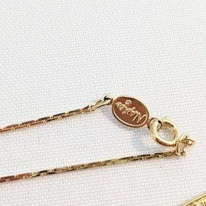 Napier Jewelry - Napier Gold Long Bolo Style Necklace